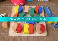 Wooden jigsaw puzzle toy shape of elementary education teaching aids are not available to report the perception of color